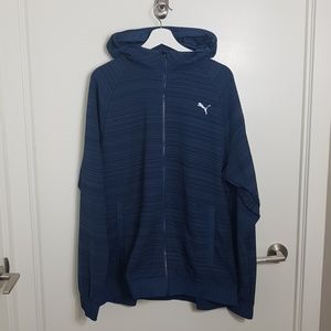 Puma Zip Up Sweater Size XL